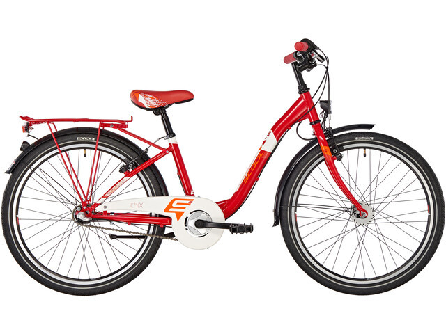 s'cool chiX 24 3-S steel Red
